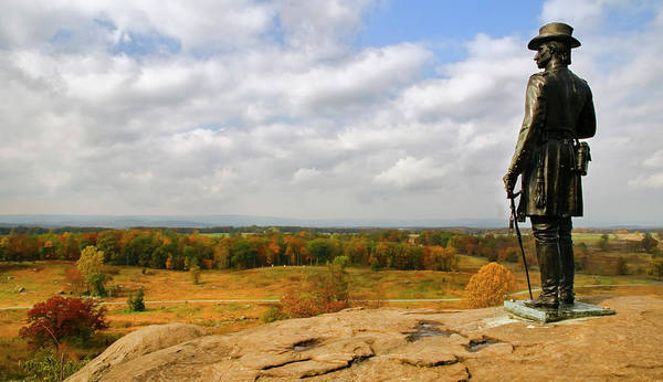 Photograph - View From Little Round Top by Mick Burkey