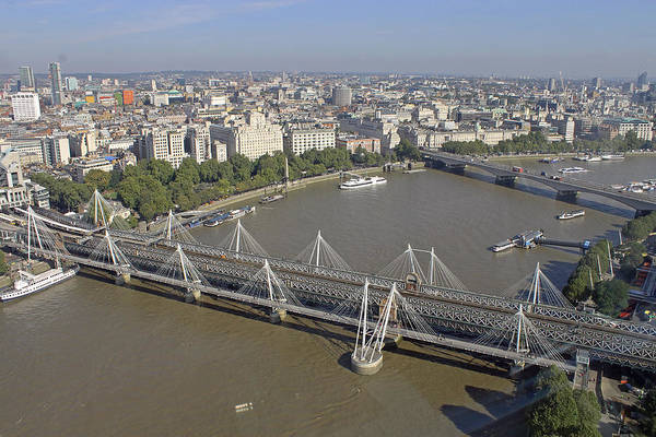 Photograph - View From London Eye by Tony Murtagh