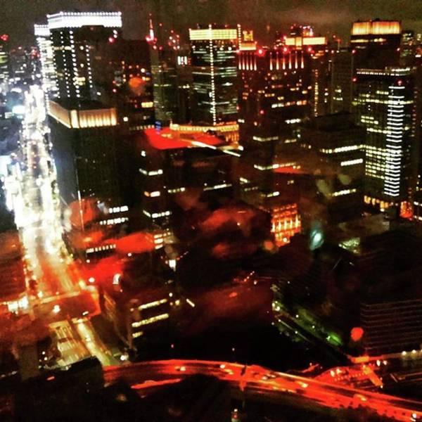 Strong Wall Art - Photograph - View From Mandarin Oriental Tokyo by Nori Strong