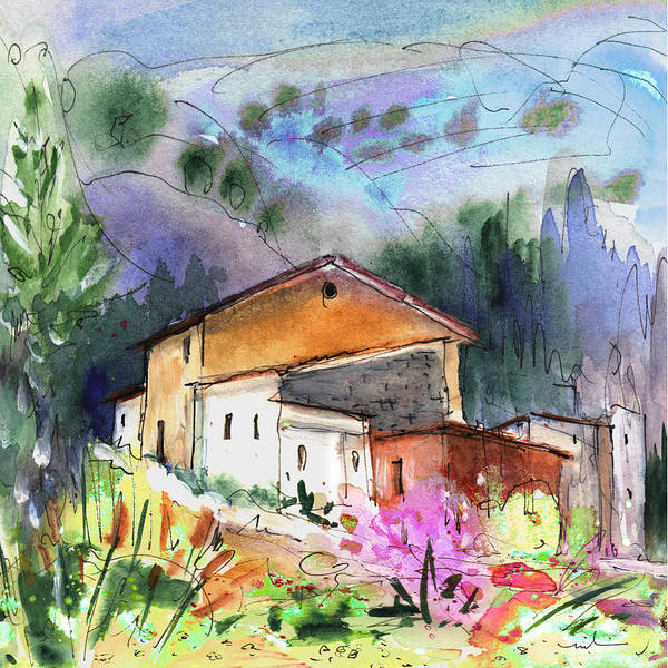 Painting - View From My Office In Spain by Miki De Goodaboom