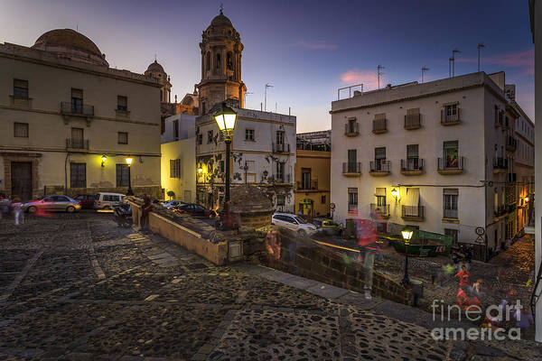 Photograph - View From Old Cathedral Cadiz Spain by Pablo Avanzini
