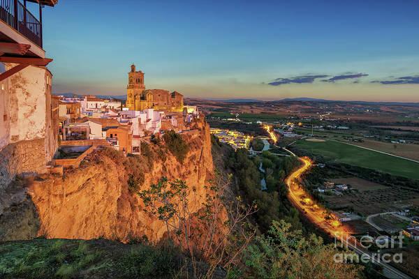 Photograph - View From Parador De La Pena Arcos De La Frontera Cadiz Spain by Pablo Avanzini