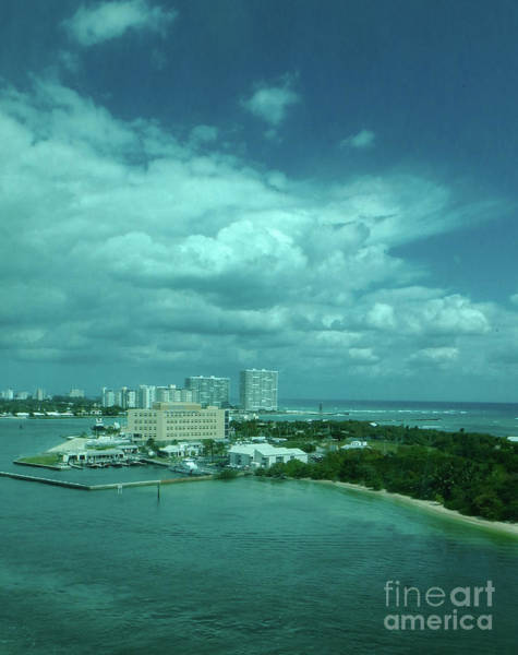 Photograph - View From Port Everglades by Judy Hall-Folde