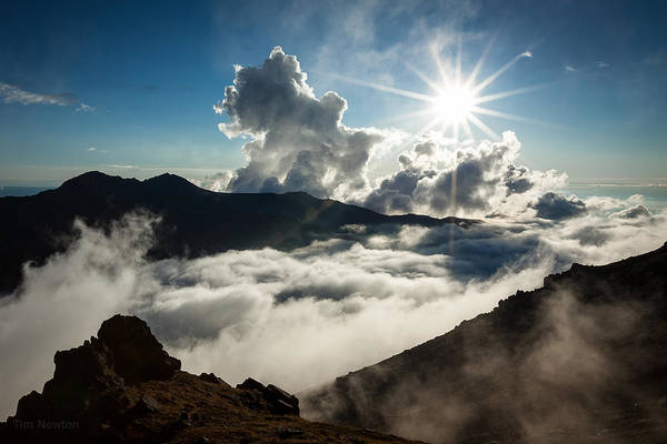 Photograph - View From Ptarmigan Peak by Tim Newton