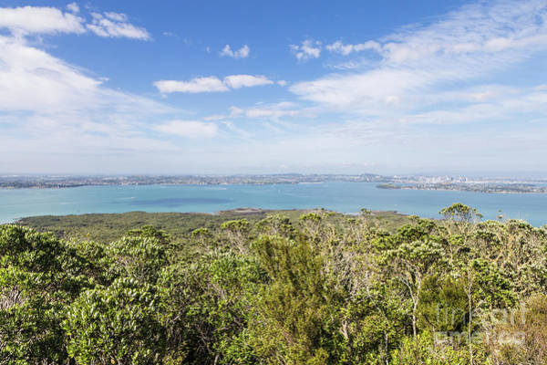 Photograph - View From Rangitoto Island Over Auckland In New Zealand by Didier Marti