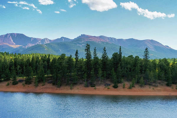 South Lake Digital Art - View From South Catamount by Ernie Echols