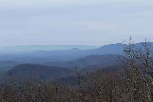 Photograph - View From Springer Mountain by Paul Rebmann