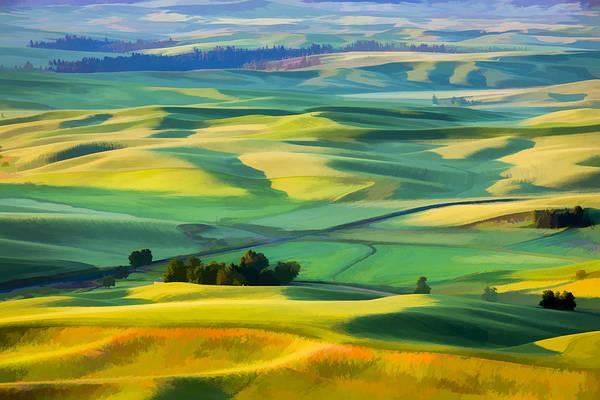 Digital Art - View From Sunrise II by Jon Glaser