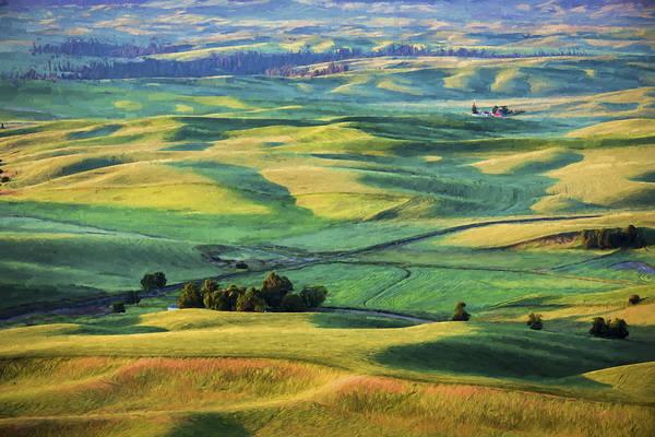 Digital Art - View From Sunrise IIi by Jon Glaser