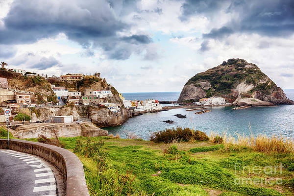 Photograph - view from terrace , Ischia island by Ariadna De Raadt