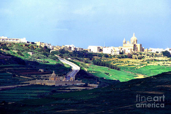 Photograph - View From The Citadel Victoria Gozo by Thomas R Fletcher