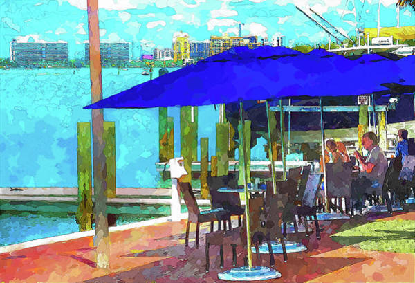 Photograph - View From The Dry Dock by Susan Molnar