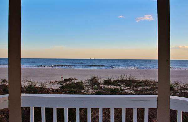Photograph - View From The Gazebo by Cynthia Guinn