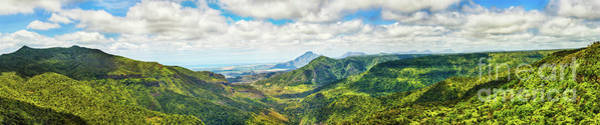 Wall Art - Photograph - View From The Gorges Viewpoint. Mauritius. Panorama by MotHaiBaPhoto Prints