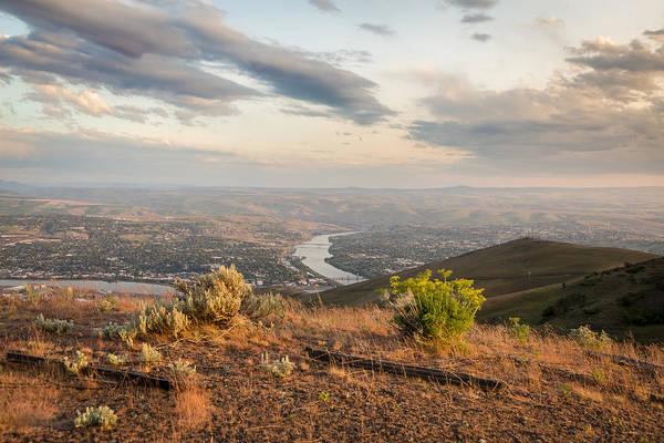 Lewiston Photograph - View From The Hill by Brad Stinson