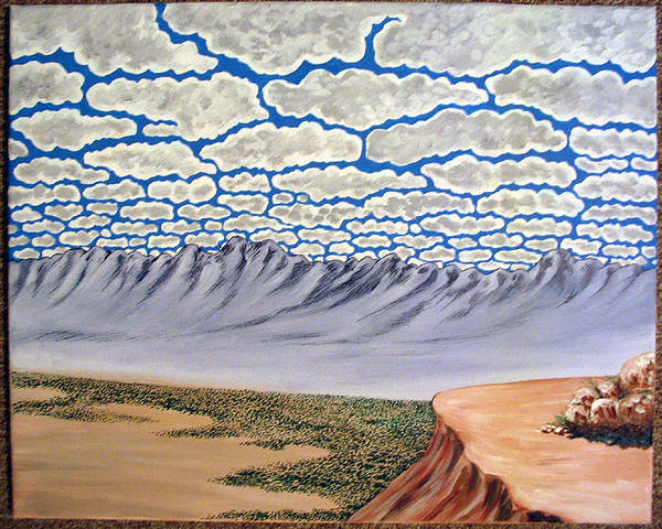 Painting - View From The Mesa by Marco Morales