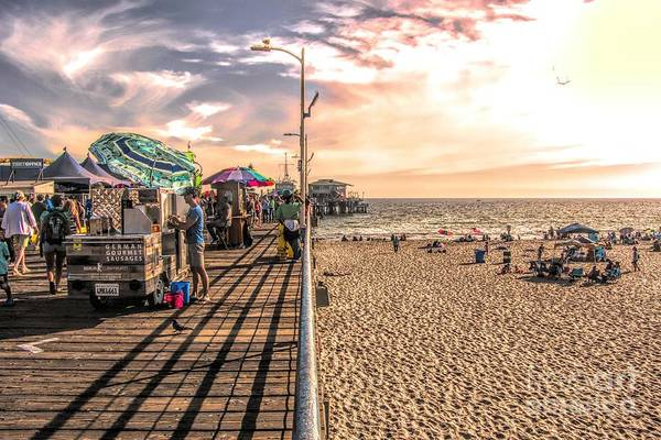 Photograph - View From The Pier by Joe Lach