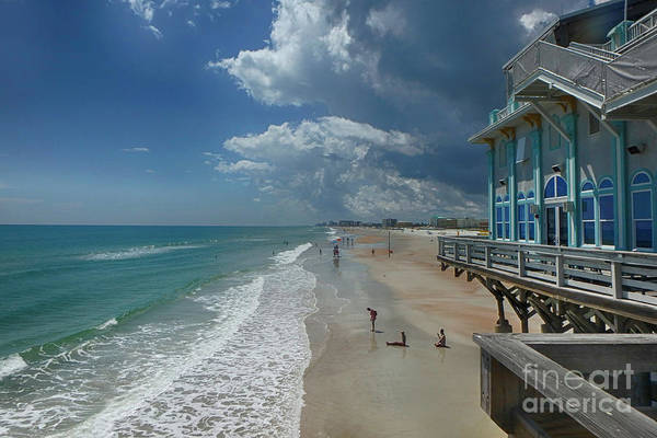 Photograph - View From The Pier by Judy Hall-Folde