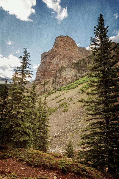 Photograph - View From The Rockpile At Moraine Lake by Joan Carroll