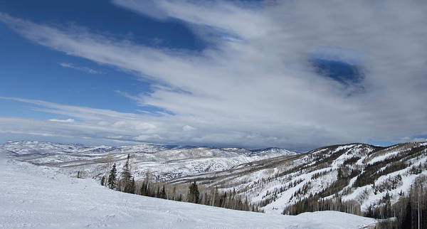 Photograph - View From The Slope by Sean Allen