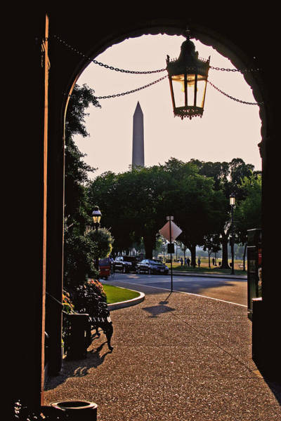 Smithsonian Photograph - View From The Smithsonian Castle by Brian M Lumley