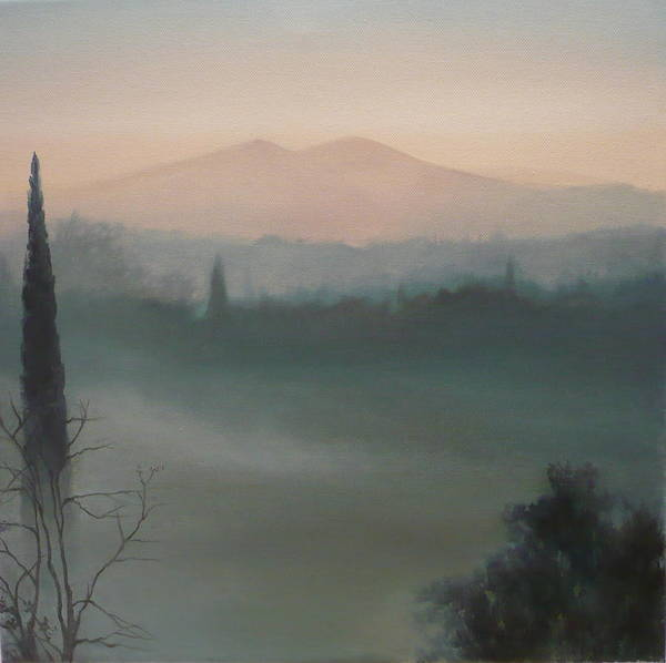 Painting - View From The Terrace by Caroline Philp
