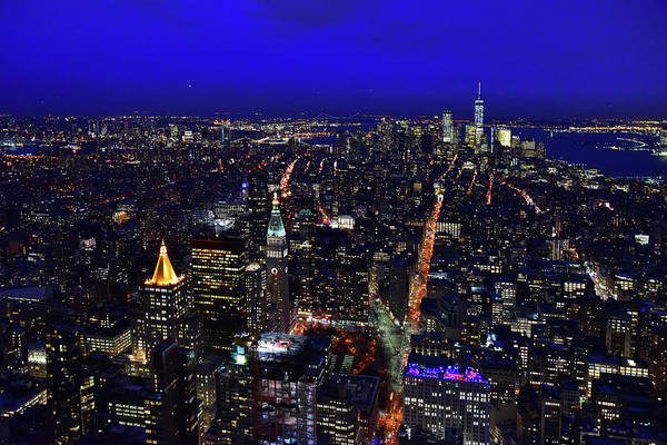 Photograph - View From The Top Of The Empire State Building by Clint Buhler
