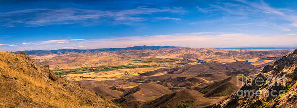 Haybale Wall Art - Photograph - View From The Top by Robert Bales