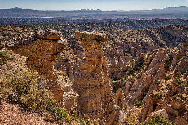 Photograph - View From The Top - Tent Rocks by Stuart Litoff