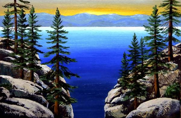 Painting - View From The Trail by Frank Wilson