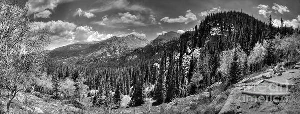 Photograph - View From The Trail by Pete Hellmann