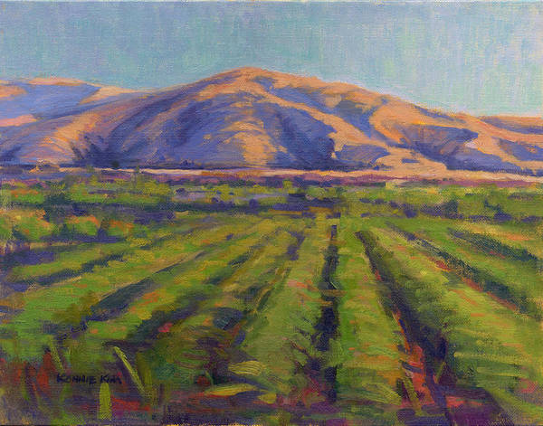 Painting - View From The Train by Konnie Kim
