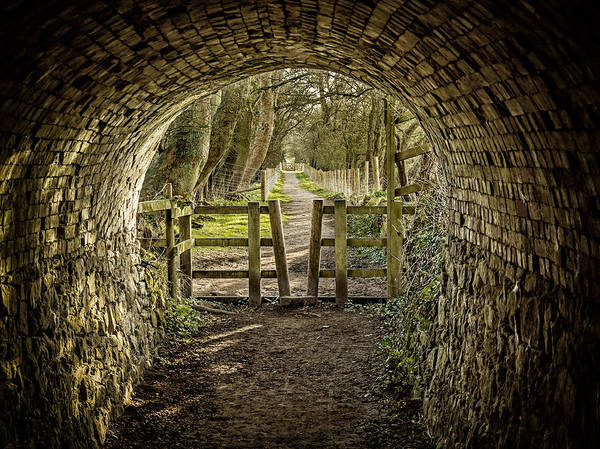 Photograph - View From The Tunnel by Nick Bywater