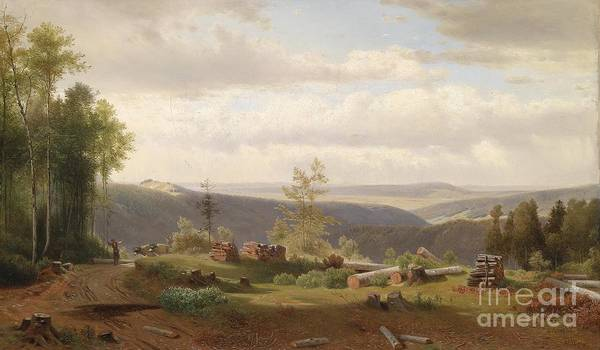 Painting - view from the Vienna Woods by Celestial Images