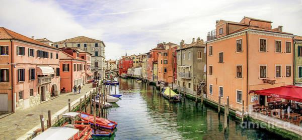 Photograph - View From The Vigo's Bridge In Chioggia Italy by Luca Lorenzelli