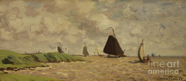 1871 Painting - View From Voorzan by Claude Monet