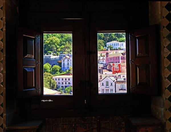 Wall Art - Photograph - View From Window In Sintra - Portugal by Madeline Ellis