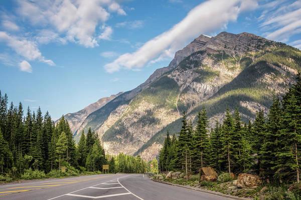 Photograph - View Into Yoho National Park British Columbia by Joan Carroll