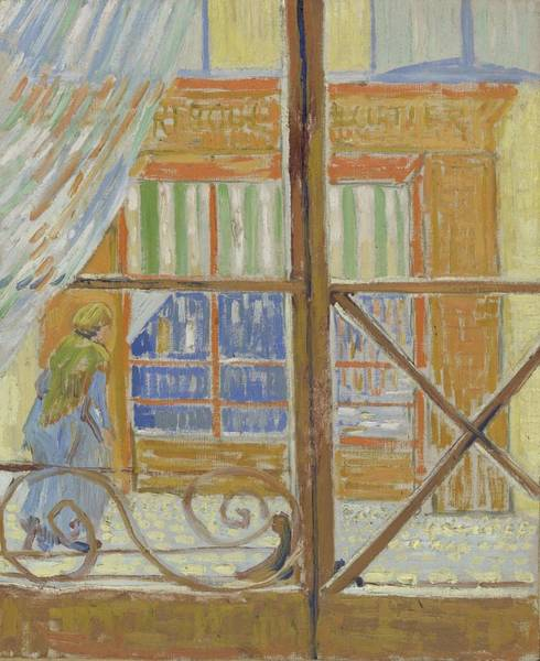 Painting - View Of A Butcher S Shop Arles, February 1888 Vincent Van Gogh 1853  1890 by Artistic Panda