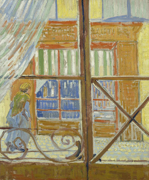 Painting - View Of A Butcher's Shop by Vincent van Gogh