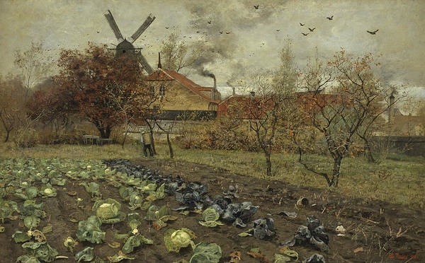Painting - View Of Amerikavej In Copenhagen by Frits Thaulow