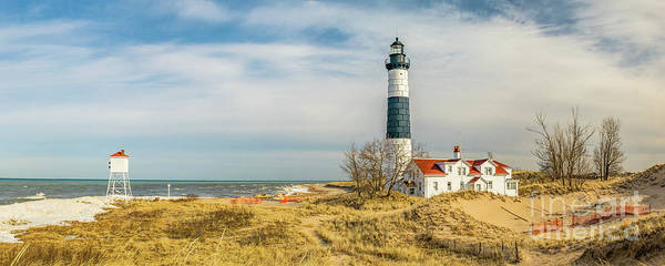 Photograph - View  Of Big Sable Point Michigan by Nick Zelinsky