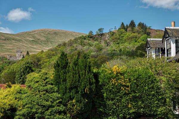 Photograph - View Of Castle Campbell From Dollar Town by Jeremy Lavender Photography