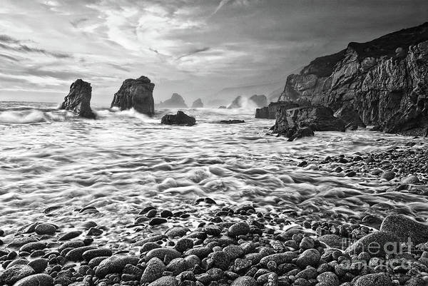 Wall Art - Photograph - View Of Crashing Waves From Soberanes Point In Garrapata State P by Jamie Pham