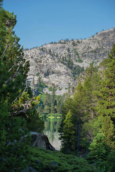 View Of Eagle Lake Art Print