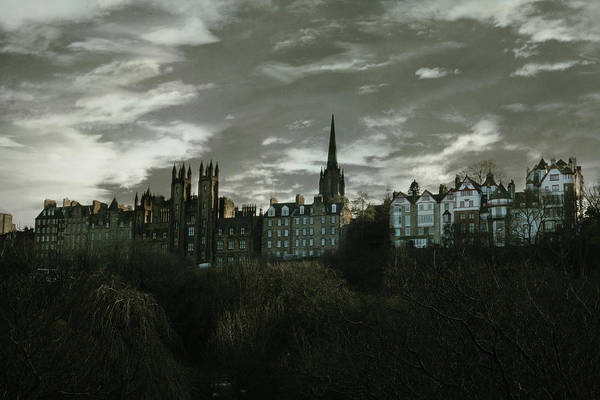 Scotland Photograph - view of Edinburgh II by Cambion Art