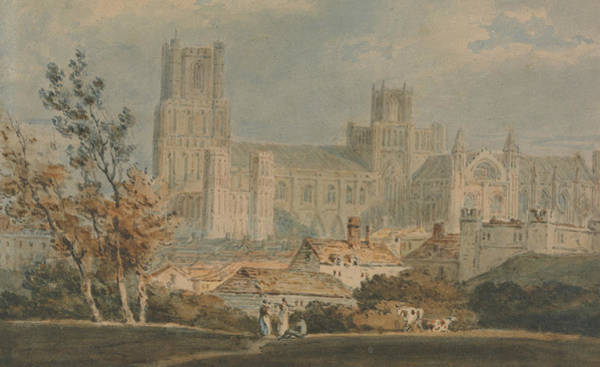 Painting - View Of Ely Cathedral by Joseph Mallord William Turner