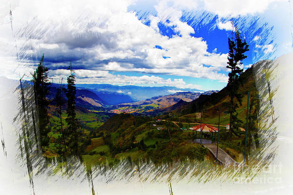 Wall Art - Photograph - View Of Giron Valley From Portete Iv by Al Bourassa