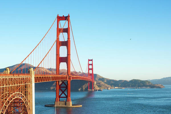 Photograph - View Of Golden Gate Bridge by Stacey Sather