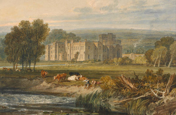 J. M. W. Turner Painting - View Of Hampton Court, Herefordshire, From The Southeast by JMW Turner